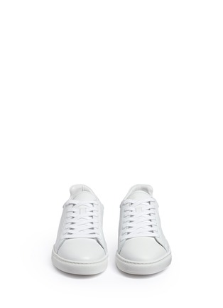 Front View - Click To Enlarge - Sophia Webster - 'Bibi' butterfly wing embroidery leather sneakers
