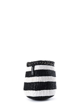Main View - Click To Enlarge - Mifuko - Kiondo extra small stripe basket