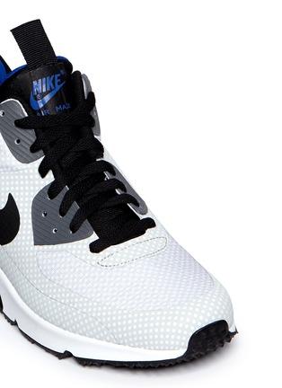 Detail View - Click To Enlarge - Nike - 'Air Max 90 Mid Winter' polka dot print sneakers