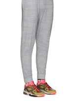 'Nike Air Mowabb OG' leather neoprene combo sneakers