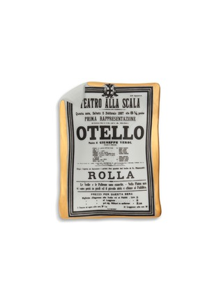 Main View - Click To Enlarge - Fornasetti - Othello Locandina sheet ashtray