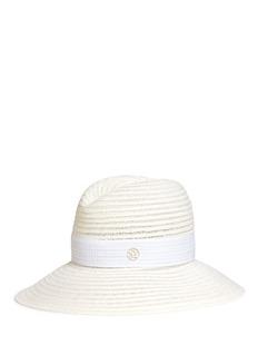 Maison Michel'Ginger' hemp straw Panama hat