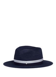 Maison Michel'Henrietta' paper straw fedora hat