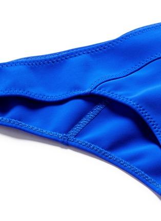 Detail View - Click To Enlarge - Lisa Marie Fernandez - 'Mira Flounce' ruffle off-shoulder bikini set