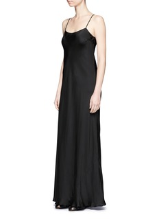 The RowEmbellished satin slip maxi dress