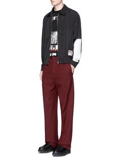 McQ Alexander McQueen'Omotesando' logo patch blouson jacket