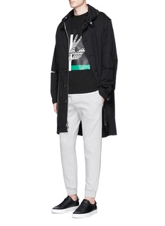 McQ Alexander McQueen Logo embroidered patch sweatpants