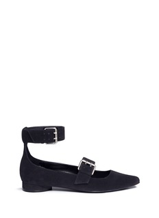 Opening Ceremony 'Fletcherr' buckled suede flats
