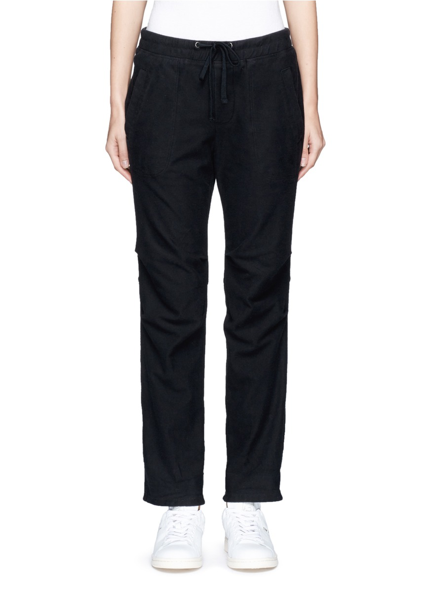 Stretch twill sweatpants by James Perse