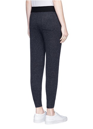 Back View - Click To Enlarge - James Perse - Cashmere knit cropped genie sweatpants