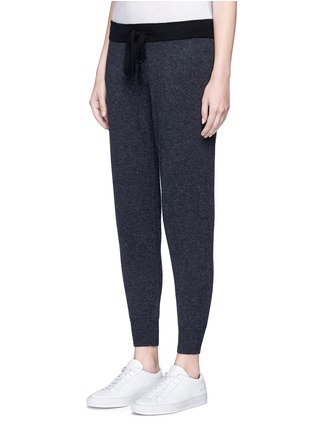 Front View - Click To Enlarge - James Perse - Cashmere knit cropped genie sweatpants