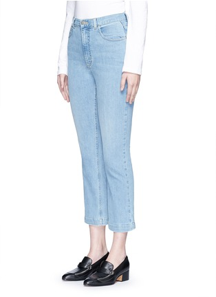 Front View - Click To Enlarge - Rachel Comey - 'Bismark' high rise cropped jeans