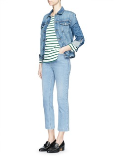 RACHEL COMEY 'Bismark' high rise cropped jeans
