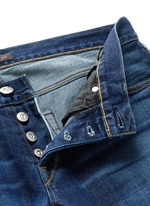 'M5' selvedge denim slim jeans