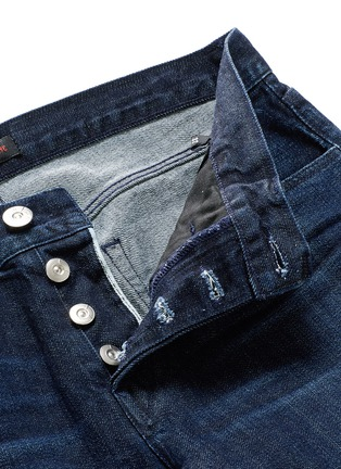 - 3x1 - 'M5' selvedge denim slim jeans