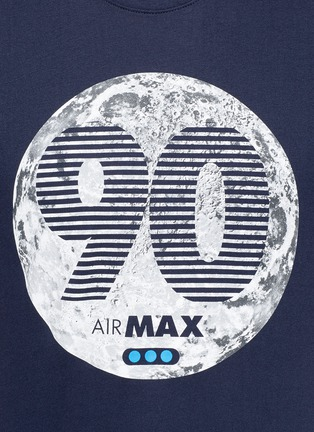 Detail View - Click To Enlarge - Nike - 'Air Max 90 Moon' print T-shirt
