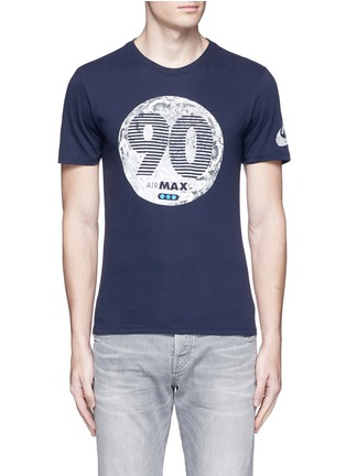 Main View - Click To Enlarge - Nike - 'Air Max 90 Moon' print T-shirt