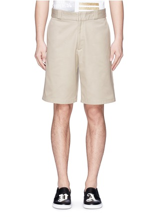 Main View - Click To Enlarge - Palm Angels - Lurex side stripe shorts