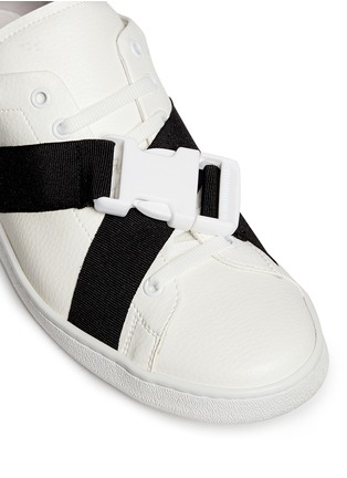 细节 - 点击放大 - JOSHUA SANDERS - 交叉搭带低筒运动鞋
