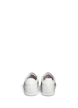 背面 - 点击放大 - JOSHUA SANDERS - 交叉搭带低筒运动鞋