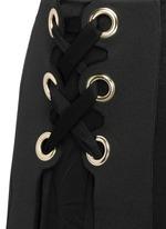 'Pont Neuf' lace-up satin crepe maxi skirt