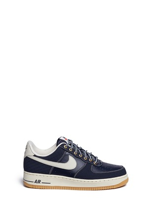 Main View - Click To Enlarge - Nike - 'Air Force 1' leather sneakers