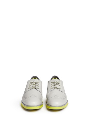 Front View - Click To Enlarge - Cole Haan - 'ZeroGrand Deconstructed' wingtip brogue Derbies