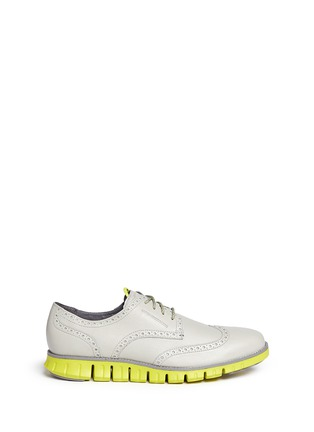 Main View - Click To Enlarge - Cole Haan - 'ZeroGrand Deconstructed' wingtip brogue Derbies