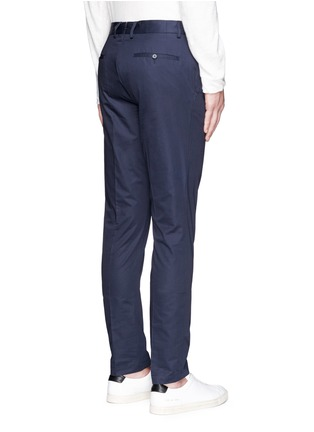 Back View - Click To Enlarge - Lanvin - Cotton gabardine chinos