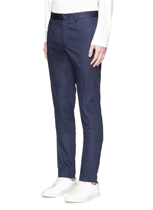 Front View - Click To Enlarge - Lanvin - Cotton gabardine chinos