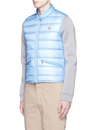 Front View - Click To Enlarge - Moncler - 'Gui' quilted down vest