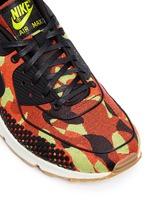 'Air Max 90 Premium Jacquard' camouflage sneakers