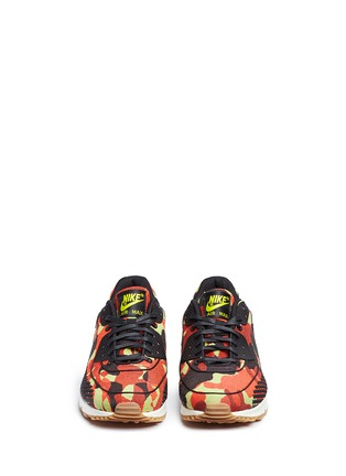Front View - Click To Enlarge - Nike - 'Air Max 90 Premium Jacquard' camouflage sneakers