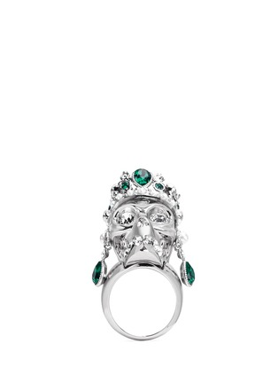 Main View - Click To Enlarge - Alexander McQueen - Royal skull ring