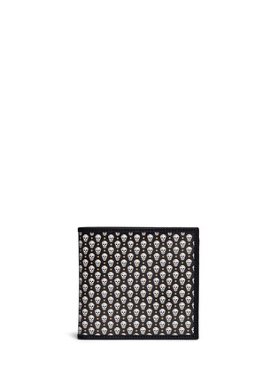 Main View - Click To Enlarge - Alexander McQueen - Skull print coated canvas bifold wallet