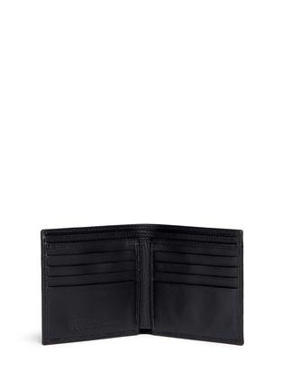 Alexander McQueen-Skull print coated canvas bifold wallet
