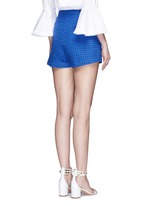 Tailored broderie anglaise shorts