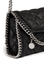 'Falabella' tiny quilted crossbody chain bag
