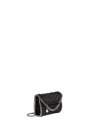 Figure View - Click To Enlarge - Stella McCartney - 'Falabella' tiny quilted crossbody chain bag