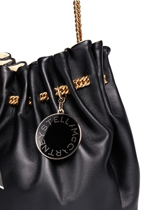 Detail View - Click To Enlarge - Stella McCartney - 'Noma' curb chain eco leather bucket bag