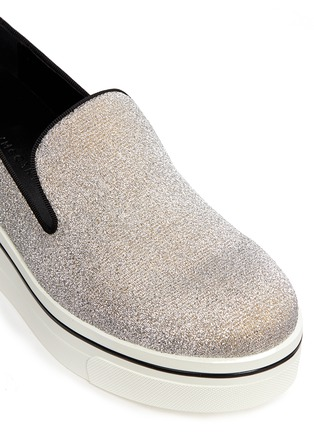Detail View - Click To Enlarge - Stella McCartney - 'Binx' glitter platform slip-ons