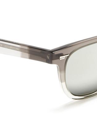 细节 - 点击放大 - OLIVER PEOPLES - 'Masek' mirror lens sunglasses
