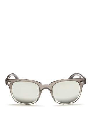 首图 - 点击放大 - OLIVER PEOPLES - 'Masek' mirror lens sunglasses