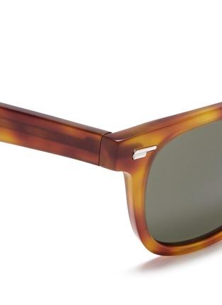 细节 - 点击放大 - OLIVER PEOPLES - 'Masek' matte tortoiseshell acetate sunglasses