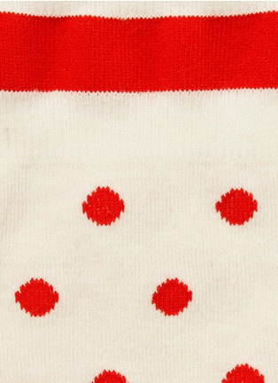 Detail View - Click To Enlarge - HANSEL FROM BASEL - 'Candy Dot' crew socks