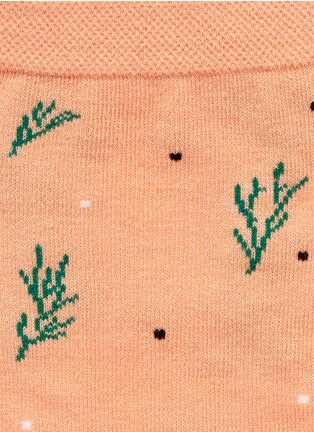 Detail View - Click To Enlarge - HANSEL FROM BASEL - Dill crew socks