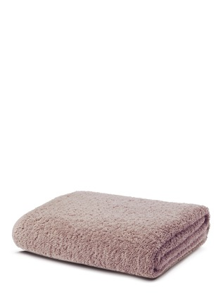 Main View - Click To Enlarge - Abyss - Super Pile reversible bath sheet — Shell