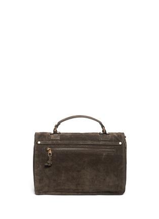 Back View - Click To Enlarge - Proenza Schouler - 'PS1' medium suede satchel
