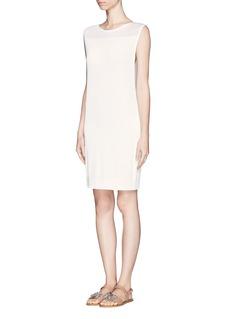THEORYKaubrey white tank dress
