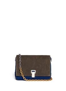 PROENZA SCHOULERCourier small colour block suede bag